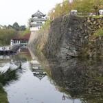 工事を控えた弘前城