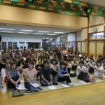 鶴田乳児園での講演会の様子