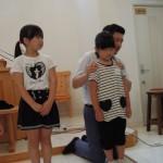 子供祝福礼拝