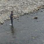 アユ解禁・釣り人