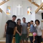 牛山牧師のお姉さんご夫妻が当教会を訪れました。