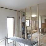 浪岡伝道所のリフォーム工事が始まりました。
