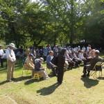 津軽キリスト教霊園で礼拝