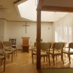 浪岡教会の新しい礼拝堂