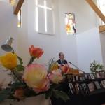 弘前西教会の追悼記念礼拝です。