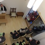 浪岡教会の献堂式