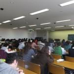 県看護学校で講演