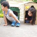 サラの小屋を占領