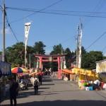 猿賀神社のお祭り