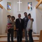 ハワイから中野雄一郎牧師が来訪しました。