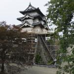 今の弘前城