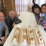 石川牧師の古希おめでとうケーキ