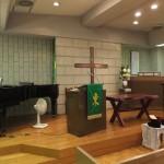 石川牧師が説教奉仕した新宿西教会