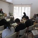 浪岡伝道所の追悼記念礼拝です。