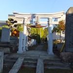 先週は写真の取り違えで失礼しました。これが広峯神社です。