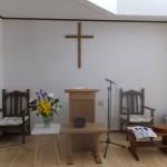 浪岡教会の会堂