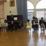 サムエル保育園の卒園式