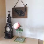 玄関のバラ
