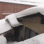先週とうってかわって大雪